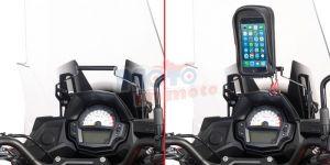 Traversino Givi per porta smartphone Kawasaki Versys 650 2017
