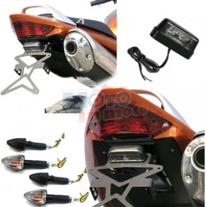 Kit licence plate with tail light & turn indicator
