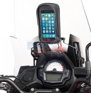 Traversino Givi con portasmartphone S954 Kawasaki Versys 650