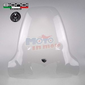 Windscreen with fitting kit