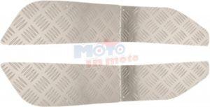 Pedane poggiapiedi made in aluminium mandorlate
