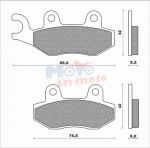 Brake pads scooter active