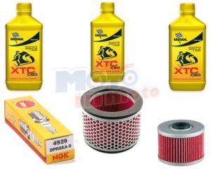 Kit tagliando manutenzione olio filtri e candele