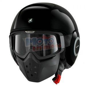 Jet helmet Drak Raw Blank