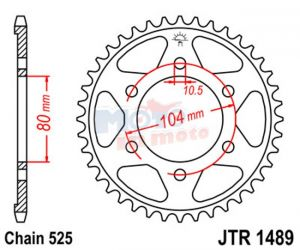 Sprockets JTR 1489.41