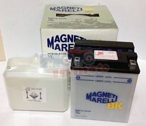 Batteria YB14L-A2 12V 14,7Ah con acido a corredo