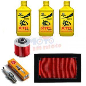Maintenance oil & oil air filter spark plug