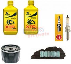 Maintenance oil filter & spark plug