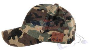 Cappello berretto con BLUETOOTH camouflage mimetico