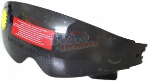 Jet helmet sun visor