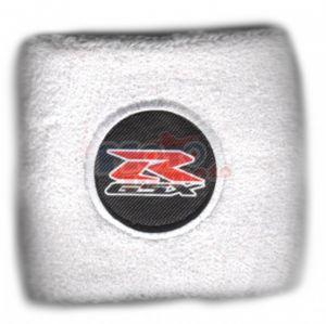 Polsino GSX logo nero su nero piccolo