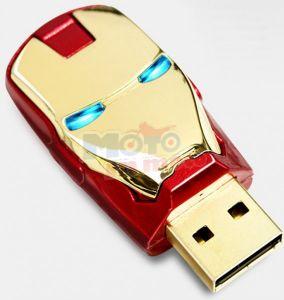 Key usb flash drive 8 Gb Iron Man