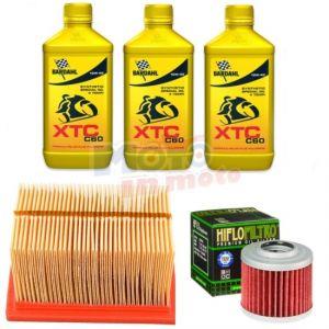 Kit tagliando manutenzione olio filtro olio e aria