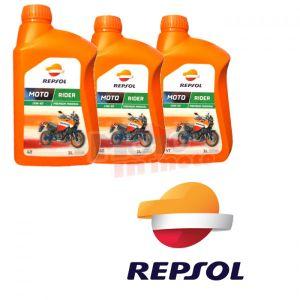 Kit Tagliando Olio Repsol Rider 15w50