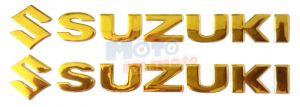 Scritte S uzuki Adesive 3D in rilievo