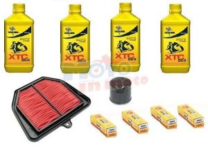Kit tagliando olio filtri e candele