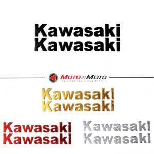 Scritte Kawasaki Adesive 3D in rilievo
