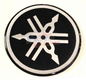 Adesivo resinato tondo Yamaha Ø 5 cm