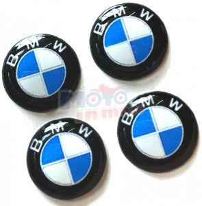 Kit adesivi resinati tondo BMW Ø 2,1cm