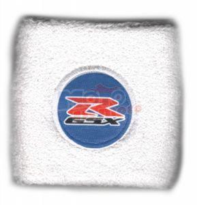 Polsino GSX-R logo nero su azzurro