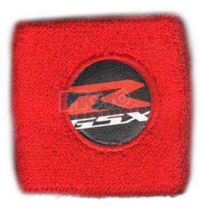 Polsino GSX-R logo bianco su nero grande