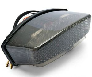Tail light with turn indicator