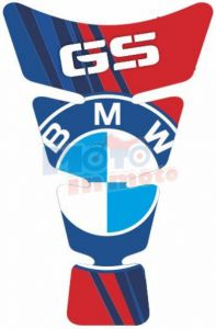Tank protector adesive BMW Red&Blue