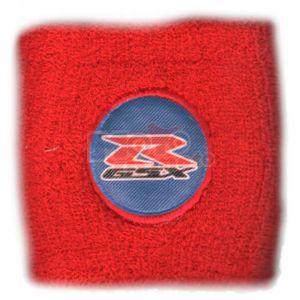Polsino GSX-R logo nero su azzurro piccolo