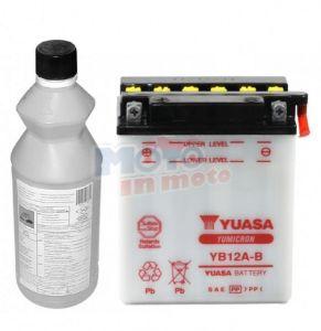 Batteria Yuasa YB12A-B Combipack