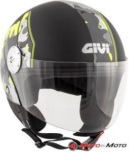 Demi-jet Helmet Givi 10.7 Mini-J Camouflage