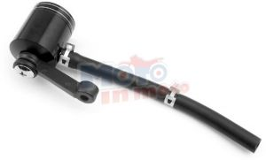 Oil Reservoir Tank Billet Motorcycle Brake Clutch Master Cylinder Fluid
