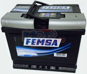 Car Battery 52AH DX FEMSA