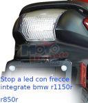 Stop a Led con frecce bmw r850 r1100gs k1200 r1150r