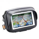 Porta navigatore/smartphone da handlebar for app. 5 pollici