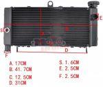 Radiatore specifico H ONDA HORNET 600 1998-2005