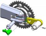Blocca corona antifurto wheel lock