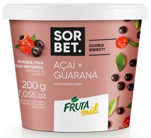 Acai Guaraná Sorbet 200 g / Açaí Guaraná 200 g