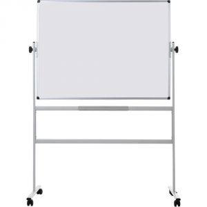 Bi-Office Revolver Whiteboard Magnetic, Double Sided