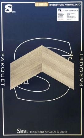 ROVERE ITALY SPINA TAGLIO A 60° RUSTIC LISTONCINO CLASSIC 14x70x500-600 mm