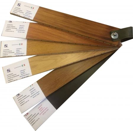 CAMPIONE WENGE' SELECT LAMPARQUET CLASSIC 10-11x65-75x400-700 mm