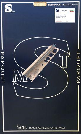 BASETTA A T 13 mm IN ALLUMINIO NATURALE