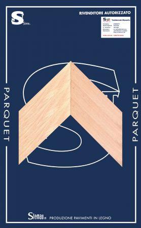 ROVERE SPINA TAGLIO A 45° NATURE LISTONCINO CLASSIC 12-14x70x500-600 mm