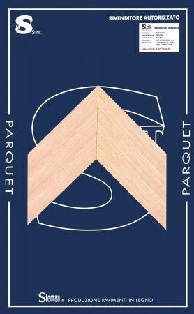 ROVERE SPINA TAGLIO A 45° SELECT LISTONCINO CLASSIC 12-14x70x500-600 mm
