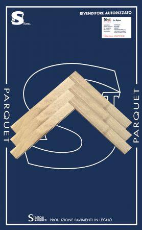 ROVERE SPINA TAGLIO A 90° SELECT LISTONE CLASSIC 15x90x500-600 mm