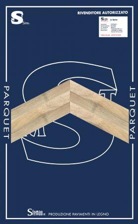 ROVERE SPINA TAGLIO A 60° SELECT LISTONE CLASSIC 15x90x500-600 mm