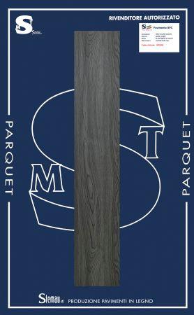 SPC (STONE POLYMER COMPOSITE) A CLICK DECORO DARK GREY LISTONE MAXI 4x183x1220 mm