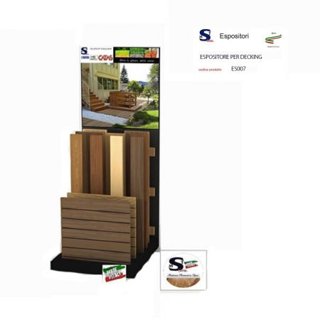 ESPOSITORE PER DECKING
