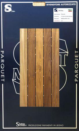 TEAK ASIA LISTONE CLASSIC 18-22x90-120x1000-2000 mm