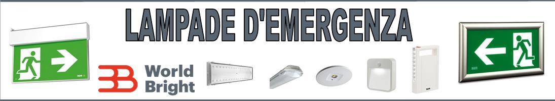 LAMPADE D'EMERGENZA