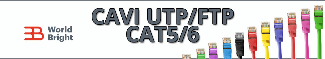 CAVO di Rete UTP/FTP CAT5/6 RJ45